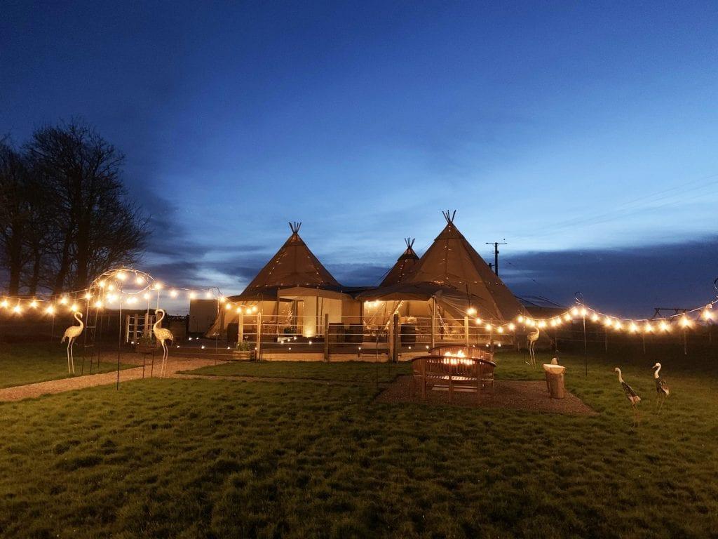 Fonmon Castle Wedding Venue Tipi