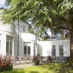 Manor Parc Country Hotel & Restaurant cedar room terrace 4