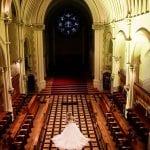 Stanbrook Abbey Wedding Venue Malvern West Midlands aerial shot
