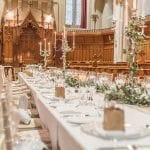 Stanbrook Abbey Wedding Venue Malvern West Midlands table