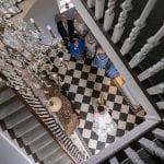Stanbrook Abbey Wedding Venue Malvern West Midlands staircase