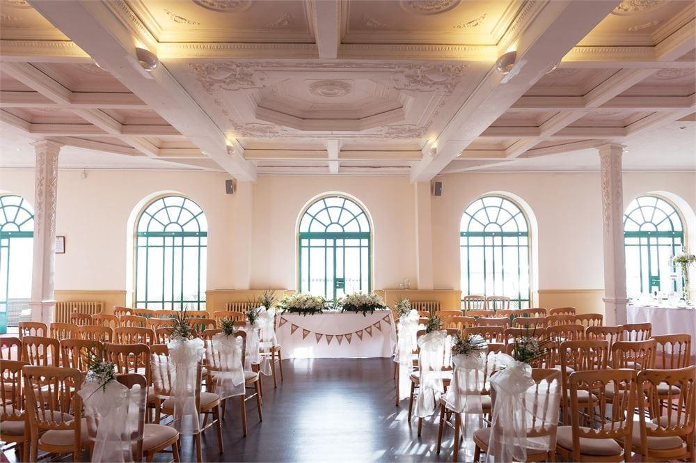Worthing Dome Wedding Venue ceremony