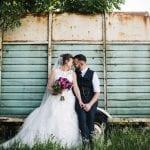 Beeston Manor Wedding Venue Lancashire Hoghton Preston bride and groom