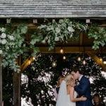 Trevenna Wedding Venue Liskeard Cornwall West Country couple kiss