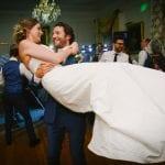 Pentillie Castle Colin & Rachel first dance Pentillie Castle wedding Claire Tregaskis Photography 11