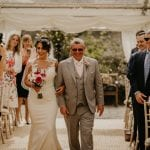 Pentillie Castle Father & Bride Noah Werth Wedding Photography 19