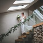 Trevenna Wedding Venue Liskeard Cornwall West Country stairs
