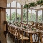 Trevenna Wedding Venue Liskeard Cornwall West Country chairs
