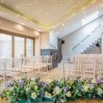 Trevenna Wedding Venue Liskeard Cornwall West Country interior chairs