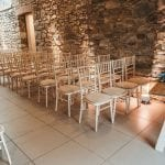 Trevenna Wedding Venue Liskeard Cornwall West Country seating chairs