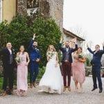 Pentillie Castle Wedding Party celebration by Stuart Girvan Wedding Photograhy 43