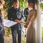 Pentillie Castle ceremony under pavilion at Pentillie Castle by U Got The Love Photography 7