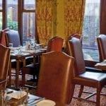 Alveston Manor Hotel Wedding Venue Clopton Bridge Stratford upon Avon Warwickshire table and chairs