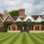 Alveston Manor Hotel Wedding Venue Clopton Bridge Stratford upon Avon Warwickshire front house and gardens