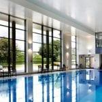 Alveston Manor Hotel Wedding Venue Clopton Bridge Stratford upon Avon Warwickshire swimming pool