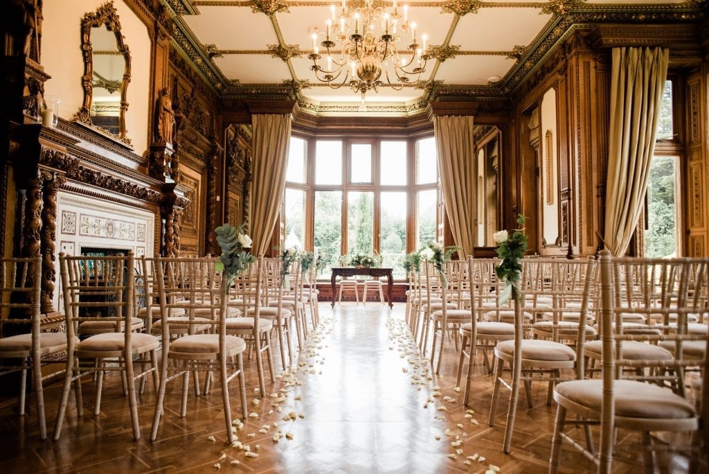 Manor by the lake wedding venue cheltenham ceremony