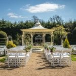 Manor by the lake wedding venue cheltenham outdoor ceremony