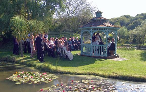 Bennetts Water Gardens Weymouth Wedding Venues