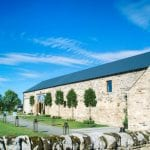 Healey Barn Wedding Venue Newcastle Northumberland outside front