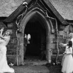 The Gwenfrewi Project wedding venue Conwy NORTH WALES outside doorway entrance
