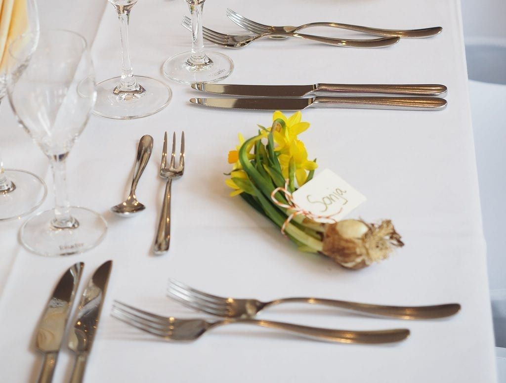Wedding Superstitions Explained Wedding favours table 8