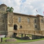 Colchester Castle front entrance to colchester 1