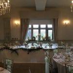 Weston Hall wedding venue Stafford STAFFORDSHIRE dining