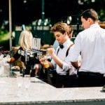 Weston Hall wedding venue Stafford STAFFORDSHIRE bar