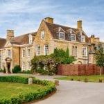Barton Hall wedding venue Northamptonshire exterior