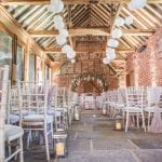 Stanlake Park & Vineyard wedding venue Berkshire Chairs