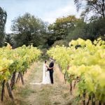 Stanlake Park & Vineyard wedding venue Berkshire couple