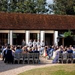 Stanlake Park & Vineyard wedding venue Berkshire outdoors