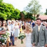 Stanlake Park & Vineyard wedding venue Berkshire Just married