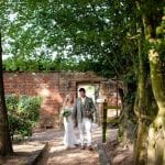Stanlake Park & Vineyard wedding venue Berkshire garden