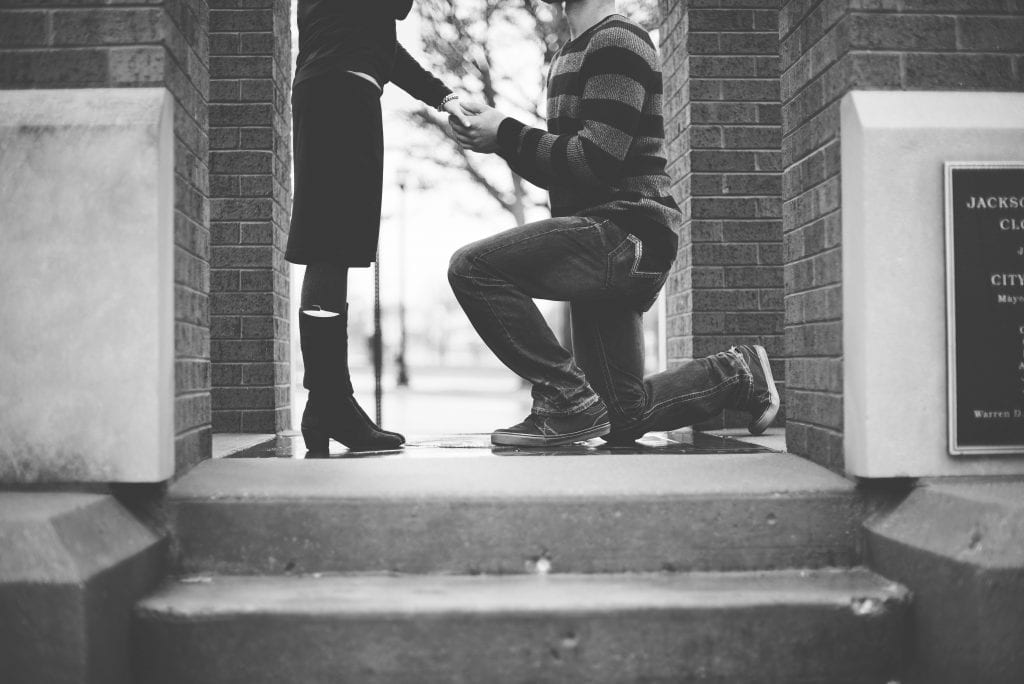 Wedding Superstitions Explained Proposal unsplash 1