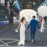Smiths of Smithfield bride and groom 1