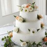 Fiona's Taylor made Cakes Wedding cake 1