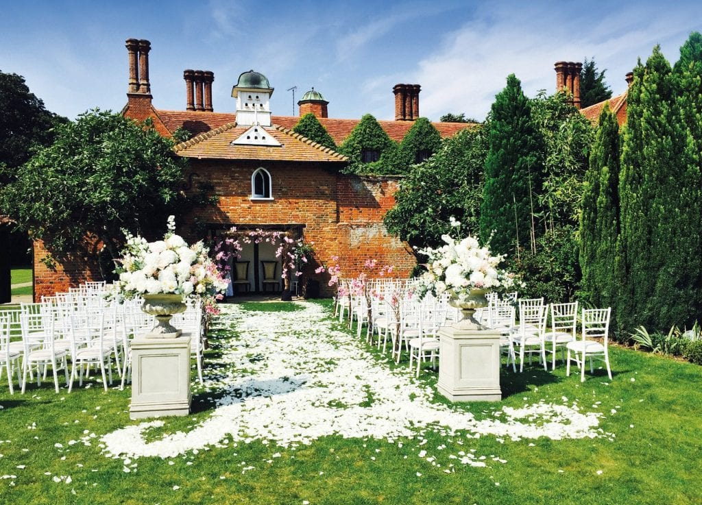 Woodhall Manor - Last Minute Spring Wedding Venue