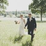Rockbeare Manor Bride and Groom Parkland Walks 8