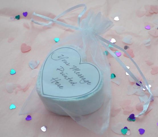 bath bomb wedding favour