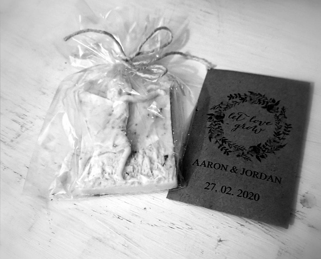 Lillibrooke Manor & Barns wedding venue wedding favours