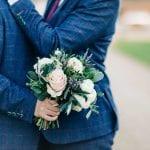 Camilla J Hards Wedding Photographer bouquet