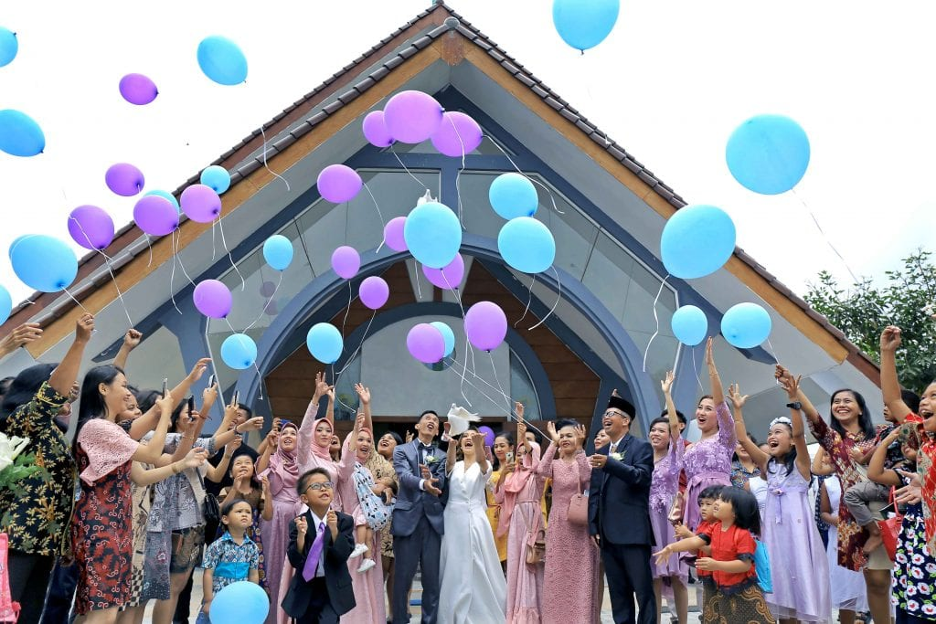 wedding ideas balloons