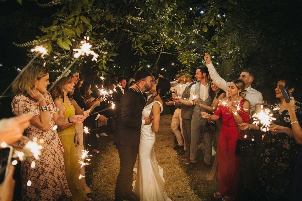 wedding ideas sparklers