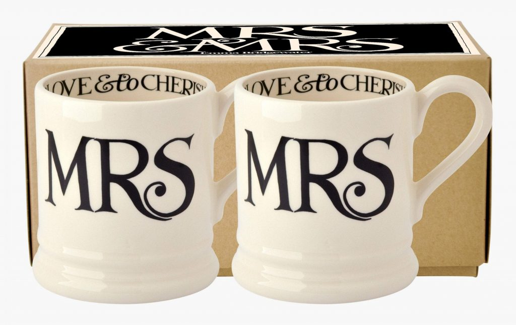 Amazing Wedding Gifts For The Bride and Groom emma bridgewater mugs 8