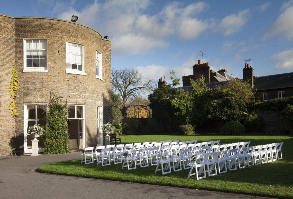 Kew gardens wedding venue london outdoor ceremony and grounds