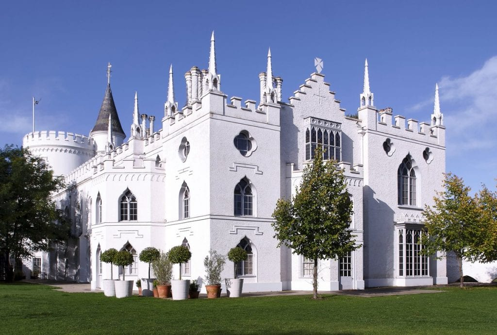 Strawberry Hill House Wedding Venue House and Grounds