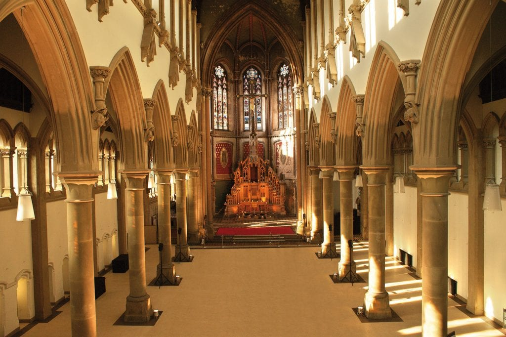 The Monastery wedding venue Manchester Hall