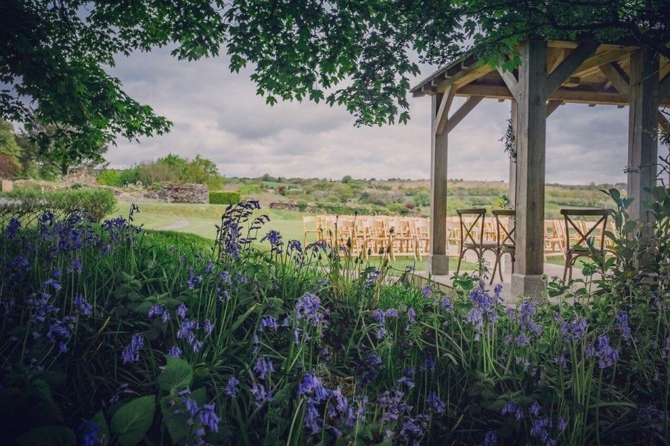 Trevenna wedding venue garden ceremony