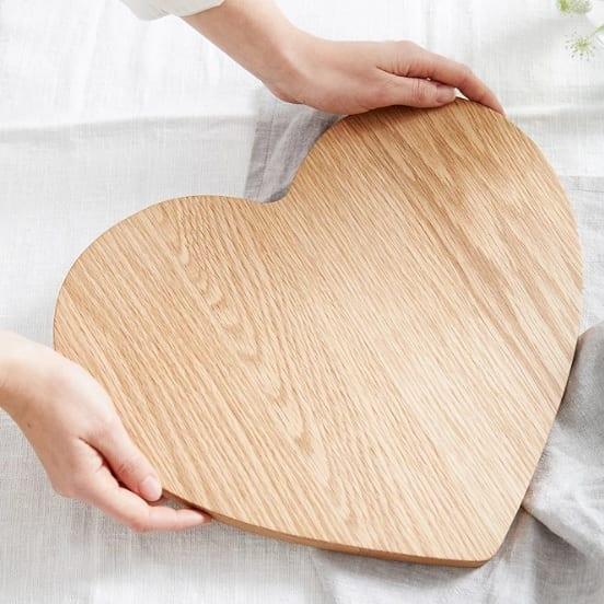 5th Anniversary gifts oak wood board